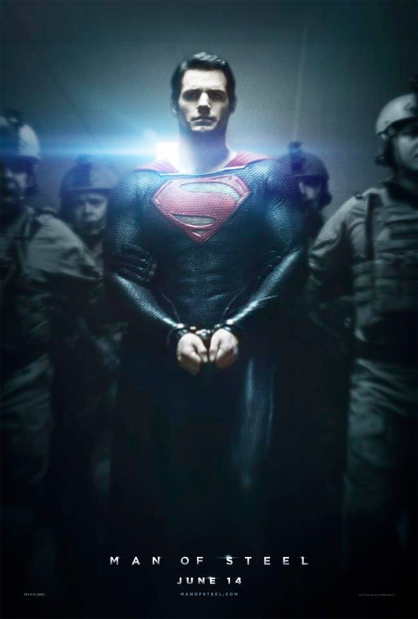 man of steel nuevo poster