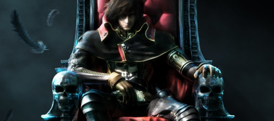 Espectacular teaser tráiler de Space Pirate Captain Harlock