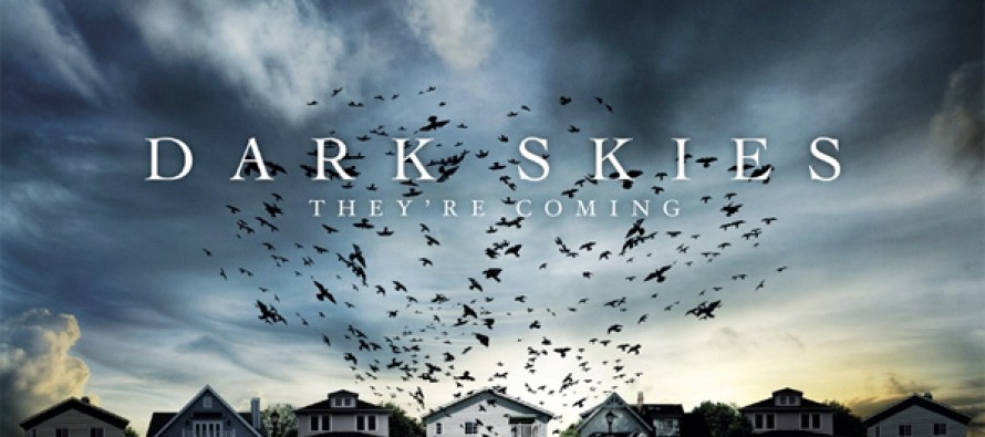 UK quad poster de Dark Skies