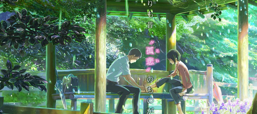 Primer trailer de The Garden of Words de Shinkai