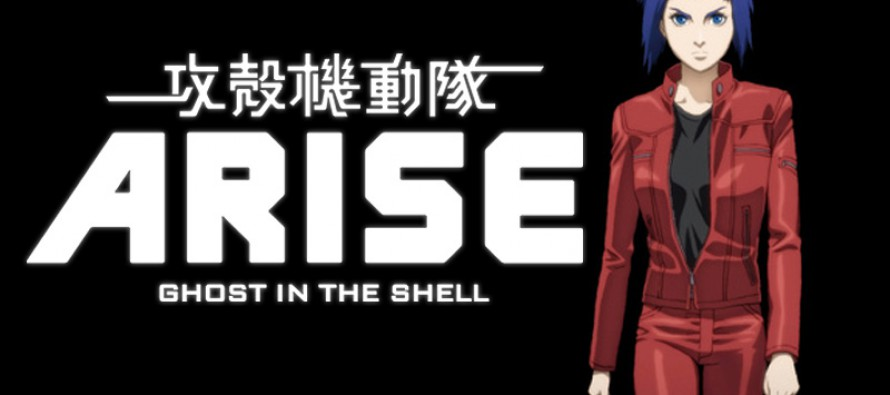 Tráiler de Ghost in the Shell: Arise