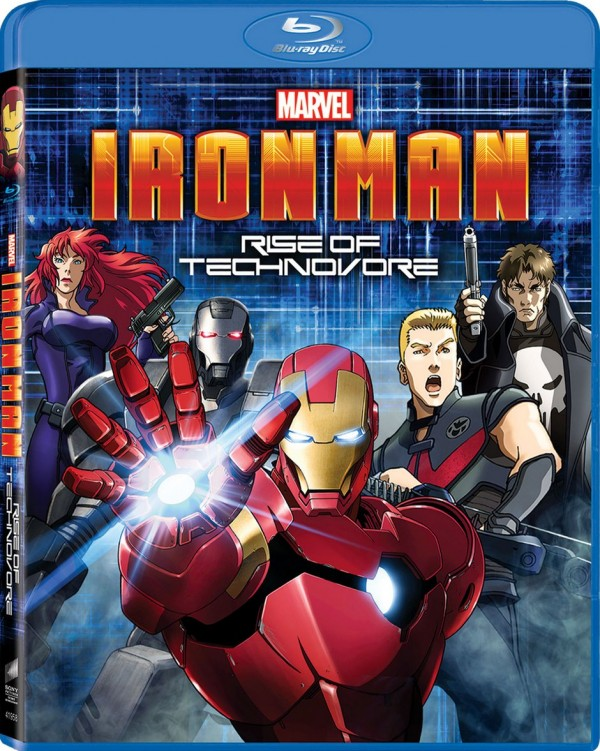 iron man rise of the technovore caratula
