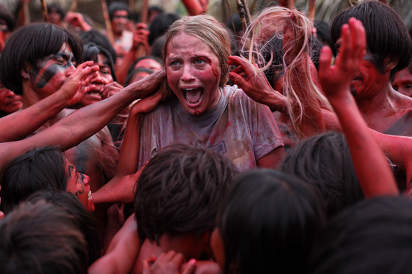 the green inferno imagen