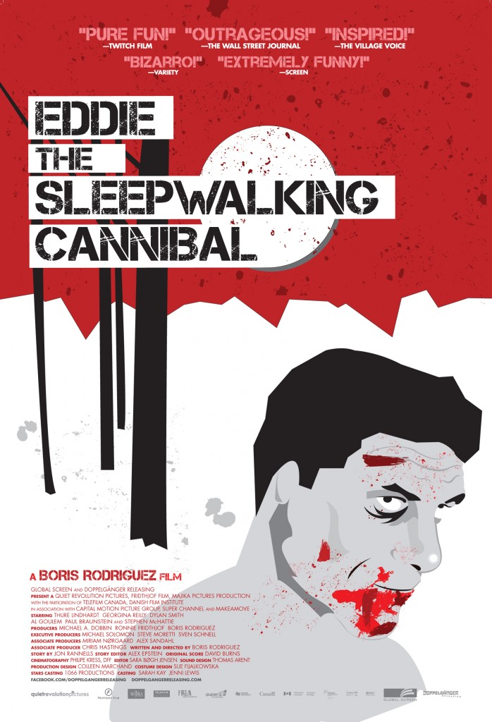 eddie, the sleepwalking cannibal poster