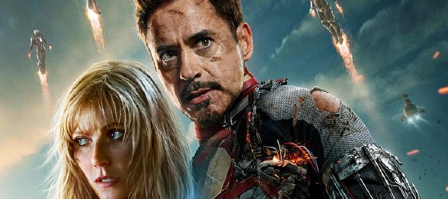 Pepper Potts y Iron Man en un nuevo poster de Iron Man 3