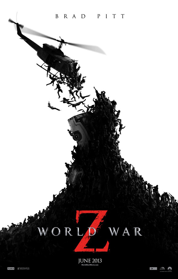 world war z poster zombis