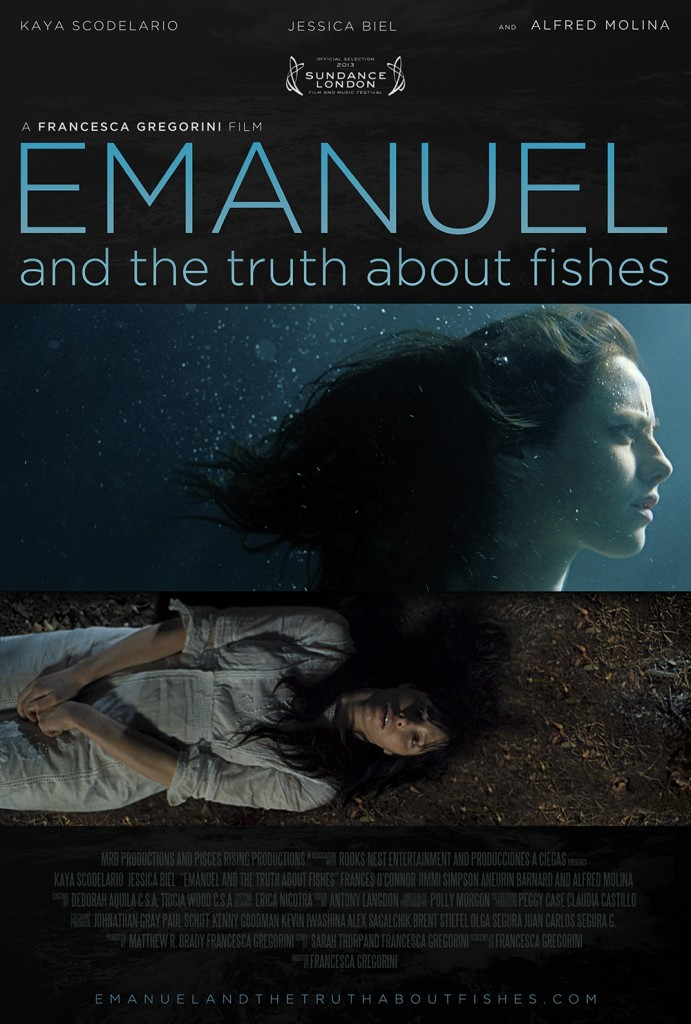 emanuel and the truth about fishes poster