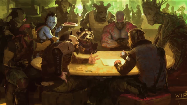 guardians of the galaxy art 3