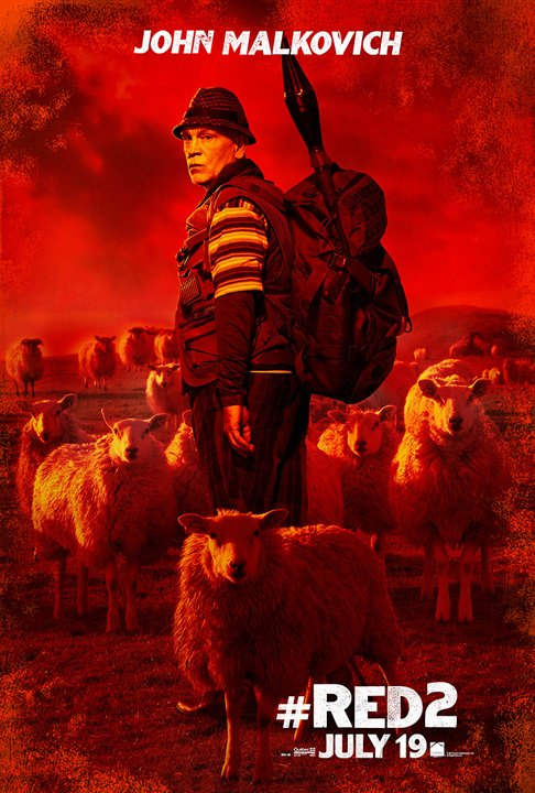 red 2 posters personajes 2