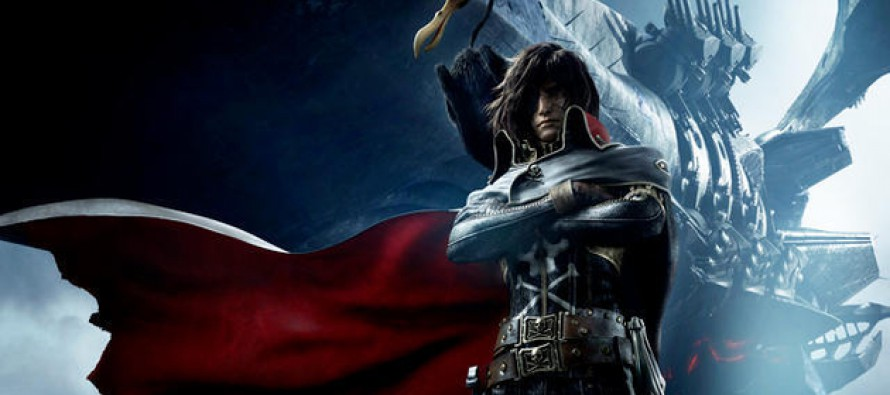 Segundo teaser de Space Pirate Captain Harlock