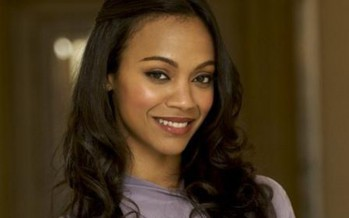 Zoe Saldana será Gamora en Guardians of the Galaxy