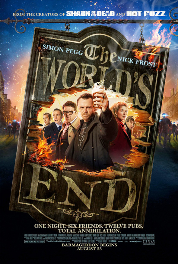 the world end poster