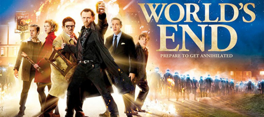 Divertidísimo nuevo tráiler de the World´s End