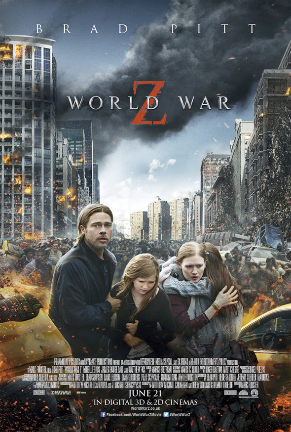 world war z poster familia