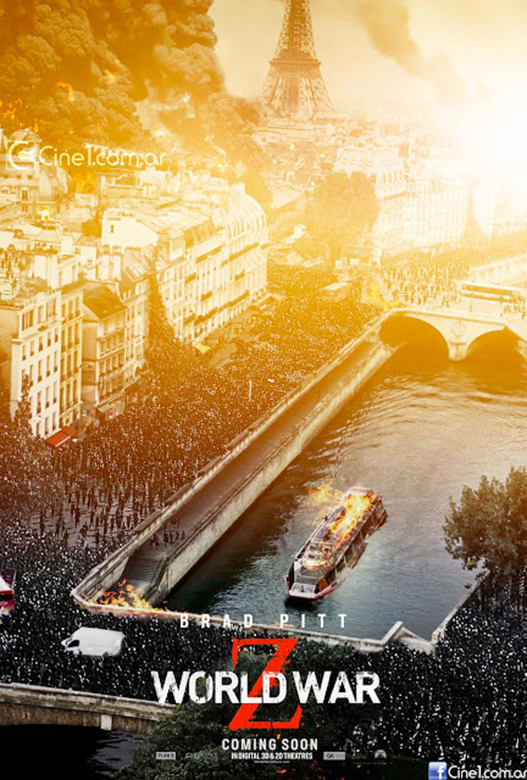 world war z poster paris
