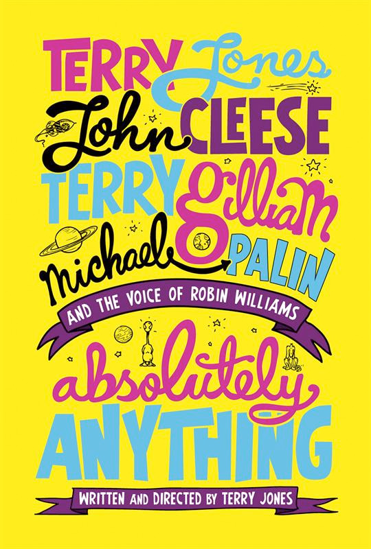 Absolutely Anything primer poster