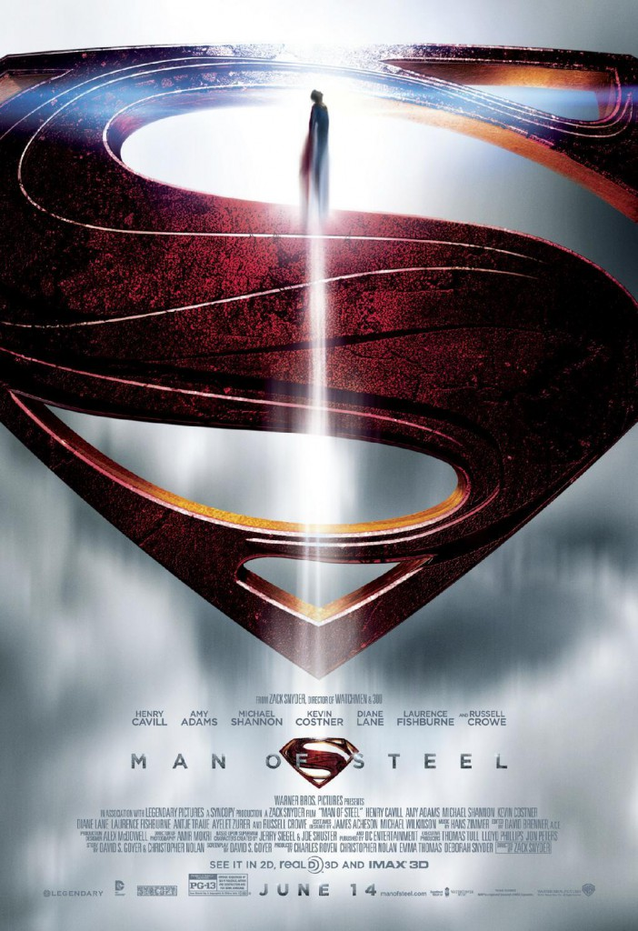 man of steel poster s