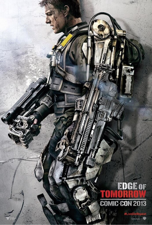 edge of tomorrow cruise poster