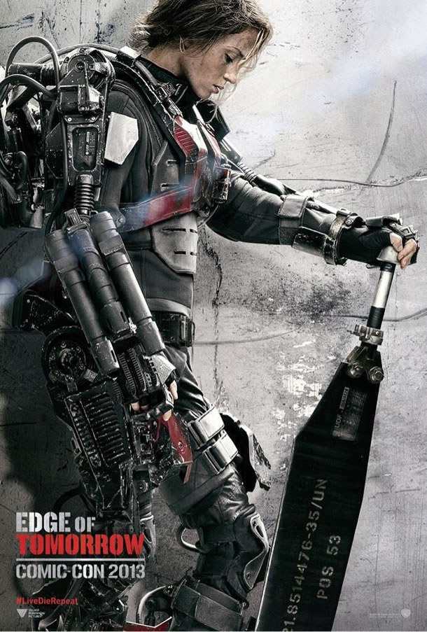 edge of tomorrow emily poster