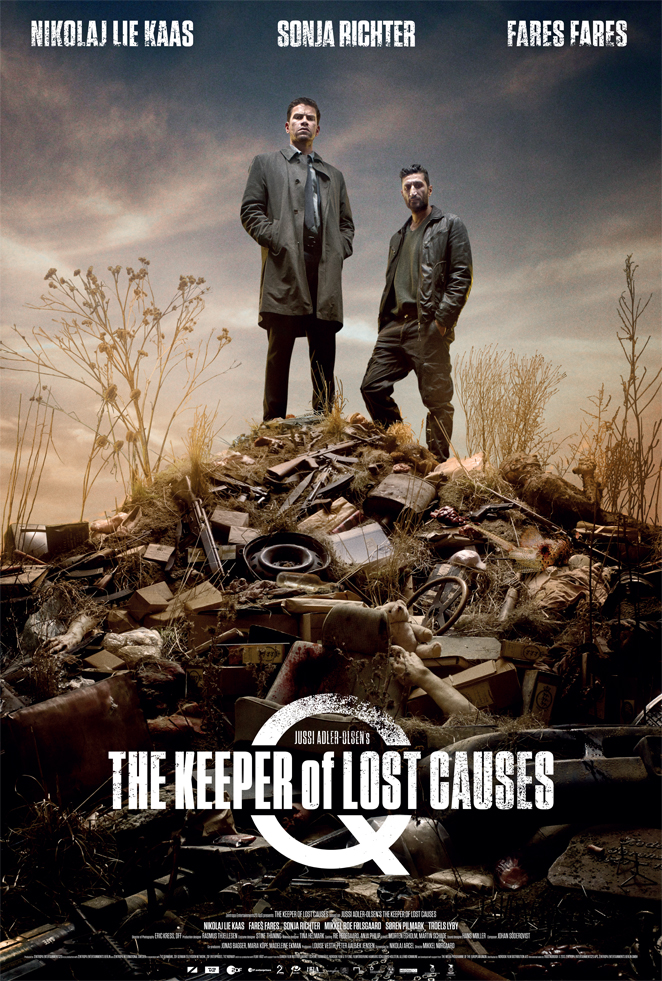 THE KEEPER OF LOST CAUSES Main Poster