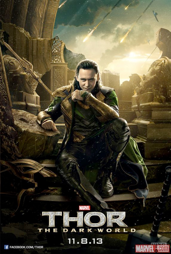 thor poster loky