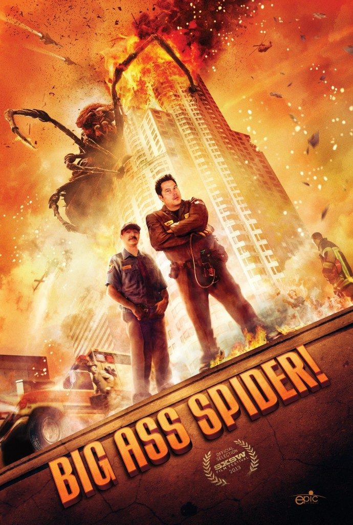 big ass spider poster nuevo