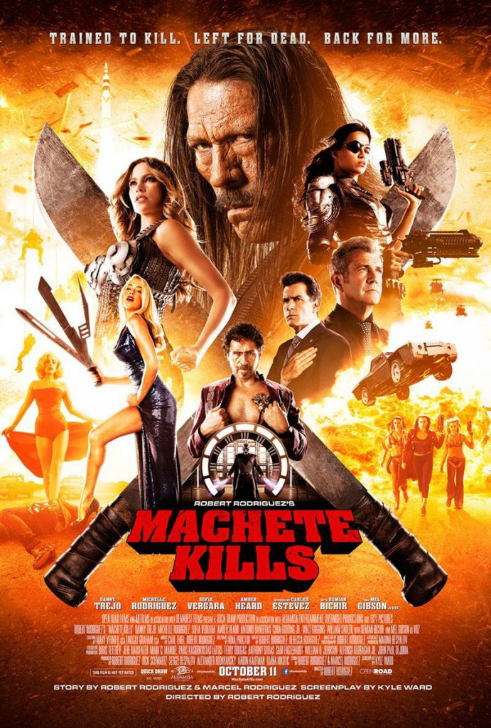 machete kills final poster
