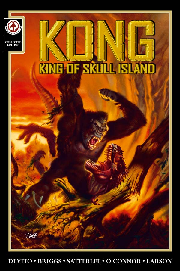 Kong King of Skull Island portada