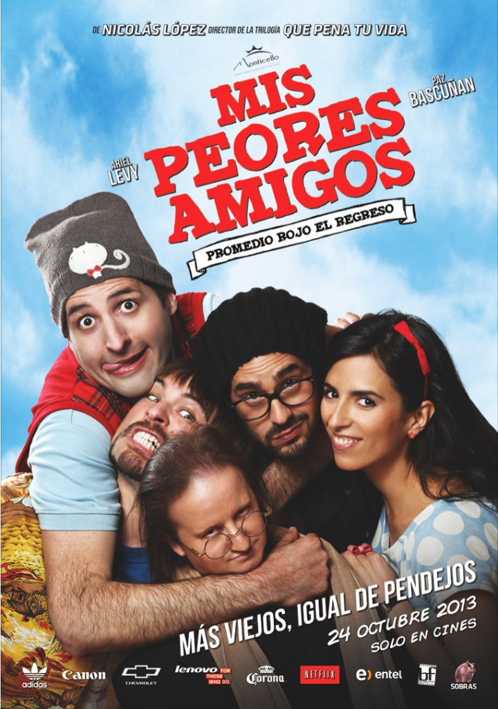 mis peores amigos poster