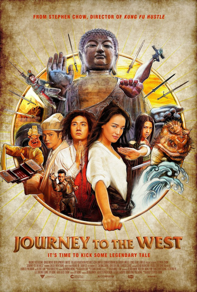 journey to the west internacional poster