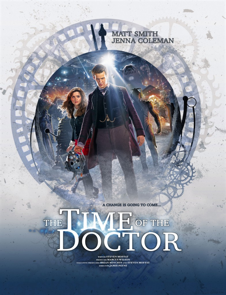 the time of the doctor poster