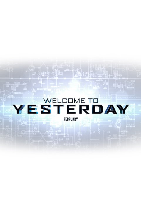 welcome to yesterday poster