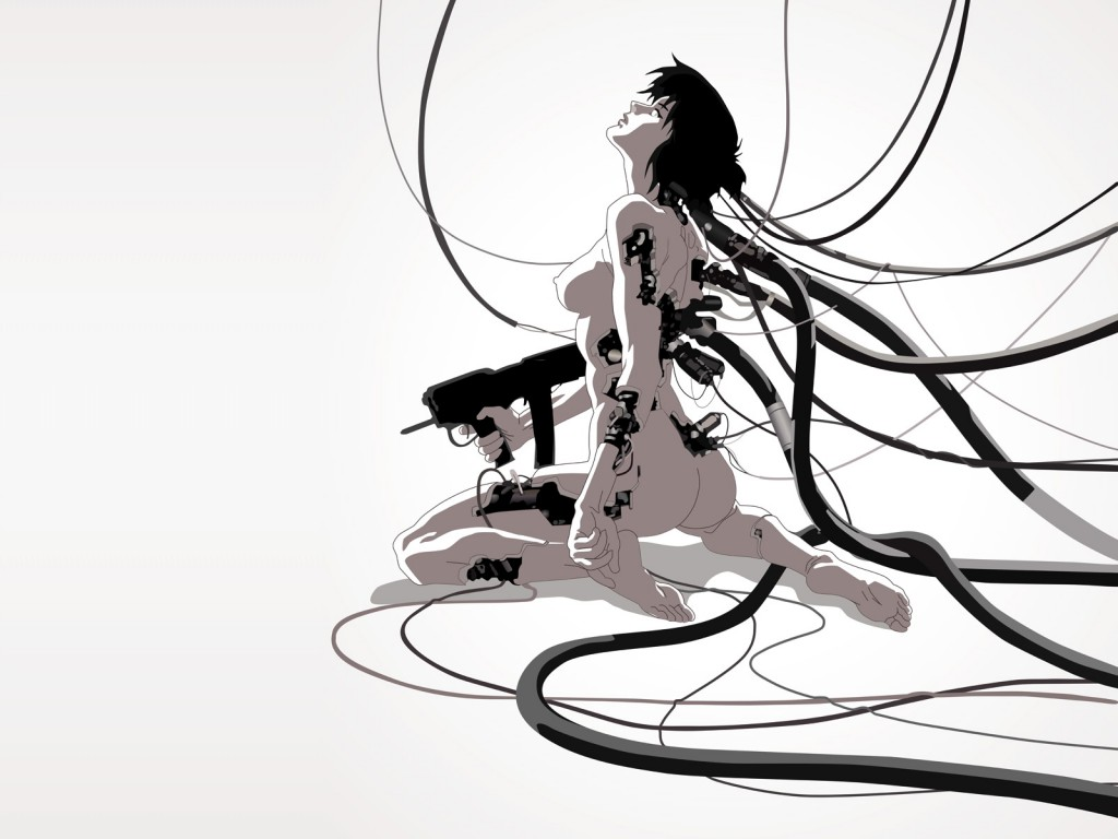 ghost in the shell imagen