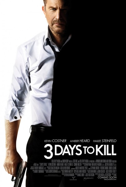 three days to kill poster