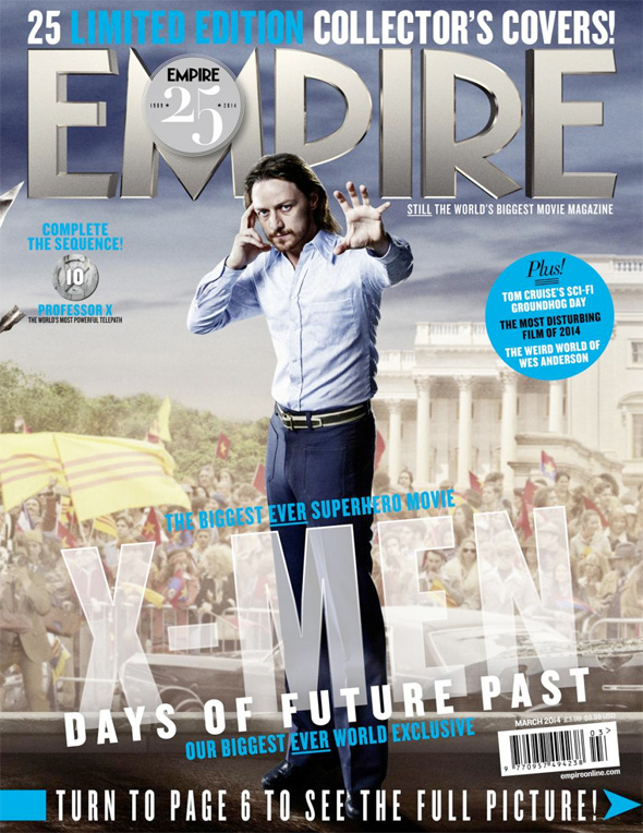 x-men days of future past empire covers 10