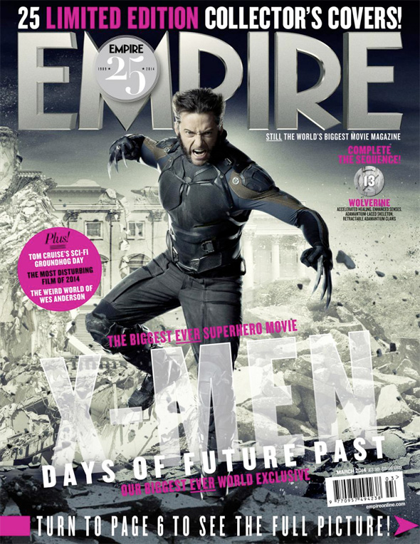 x-men days of future past empire covers 13