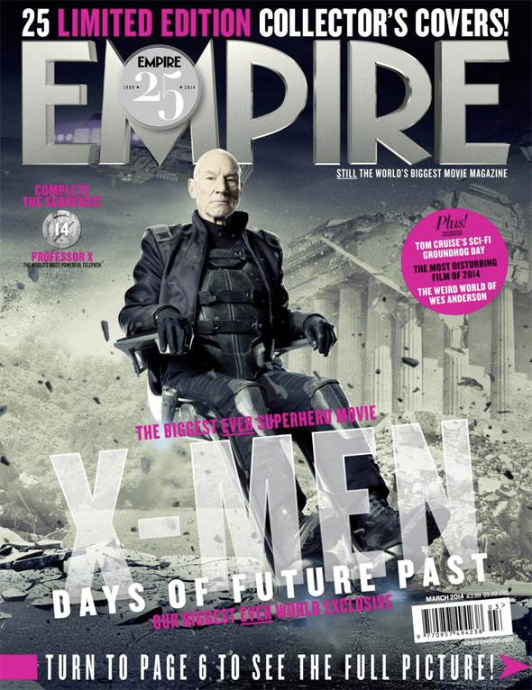 x-men days of future past empire covers 14