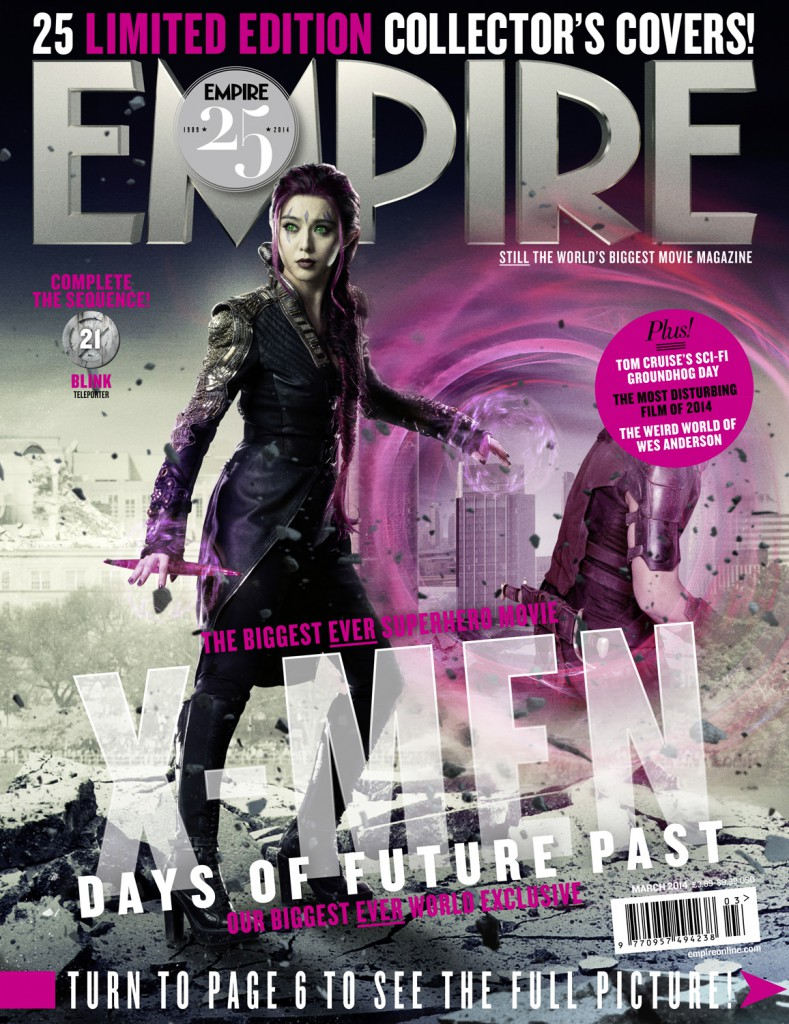 x-men days of future past empire covers 21