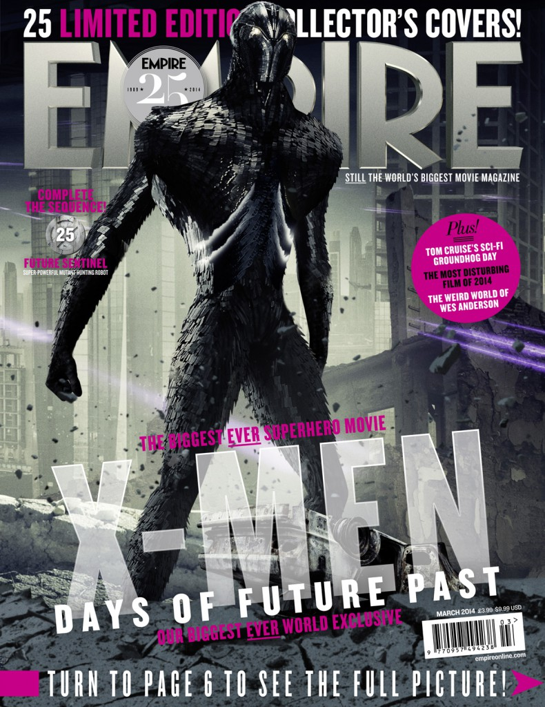 x-men days of future past empire covers 25