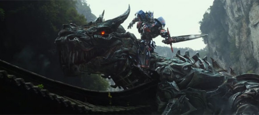 Increible primera promo de Transformers: Age of Extinction
