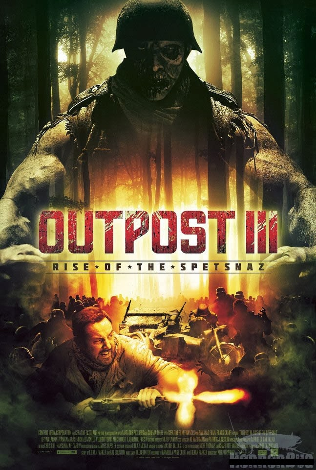 outpost III poster dvd
