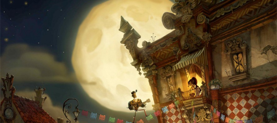 Primer arte conceptual de The Book of Life