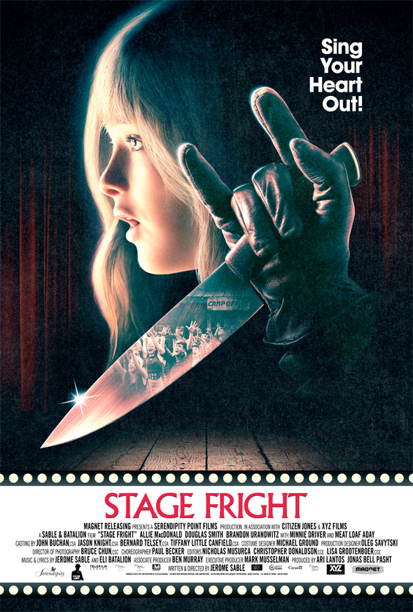 stage fright poster 2