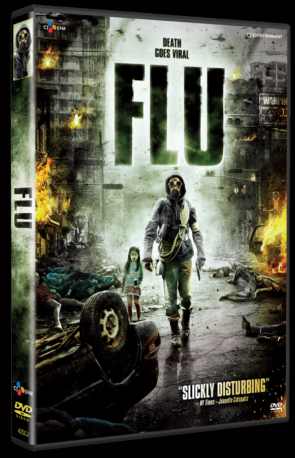 the flu portada dvd