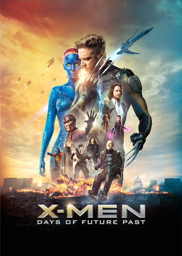 x-men days of future past poster plural