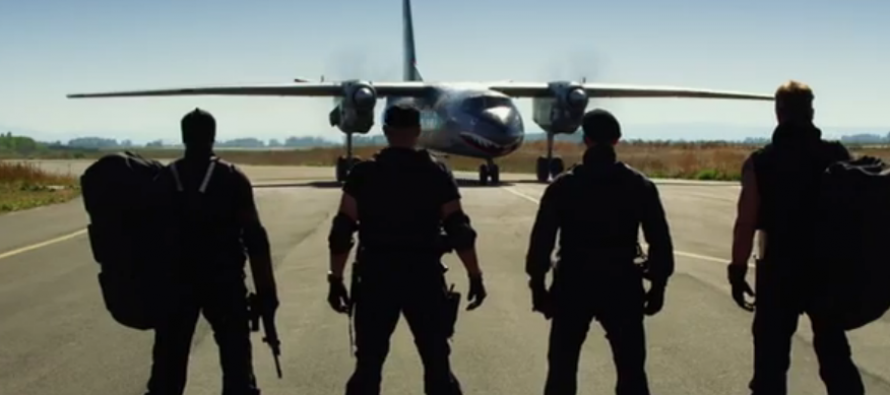 Teaser tráiler de The Expendables 3
