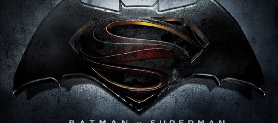 Logo para Batman v superman y título