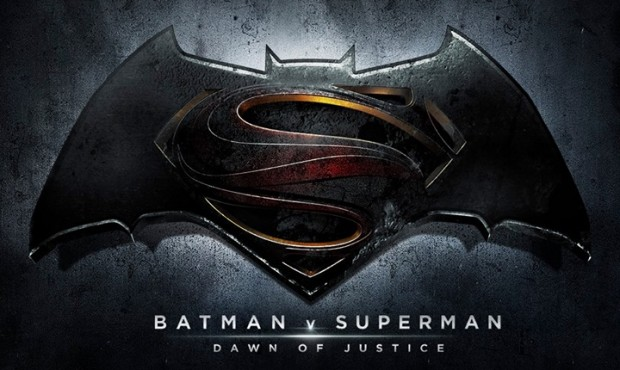 batman v superman logo banner