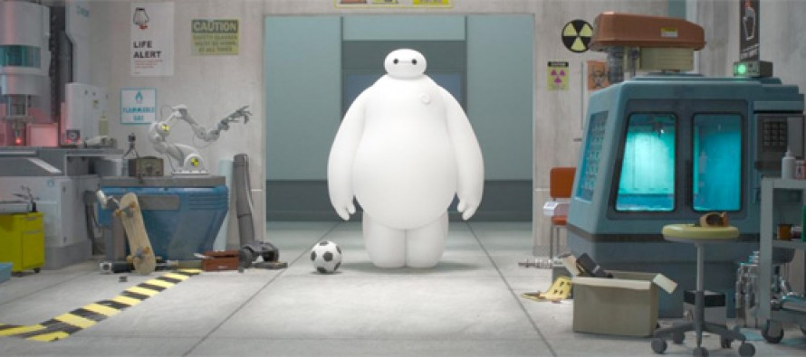 Primer vistazo a Big Hero 6