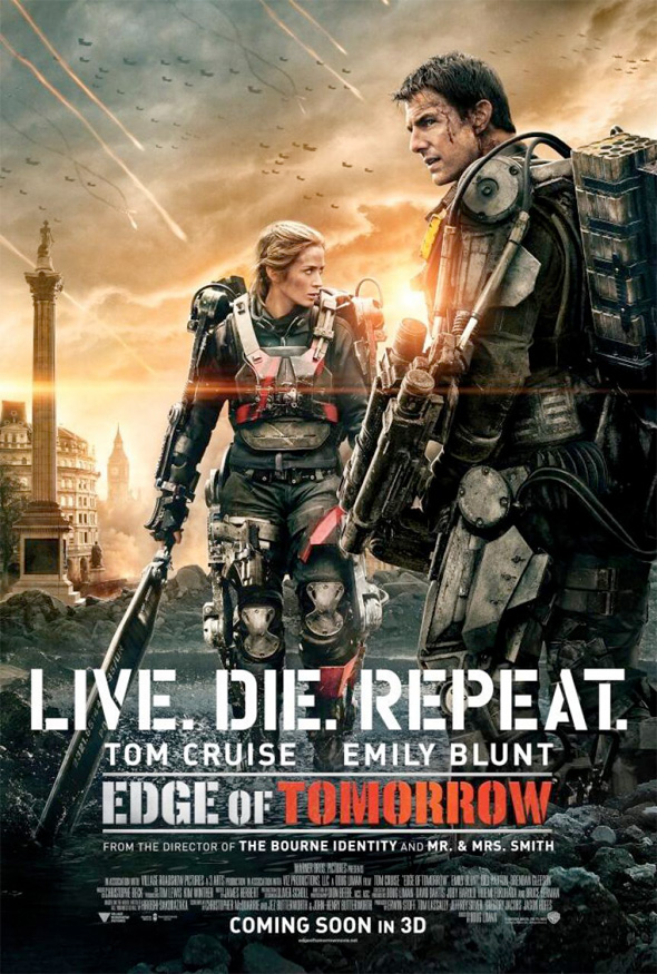 edge of tomorrow poster 3